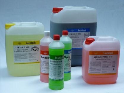 Schaumreiniger mit Chloranteil Lenolin C 4501