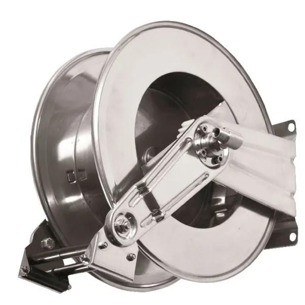 Schlauchaufroller AV1100 aus Edelstahl