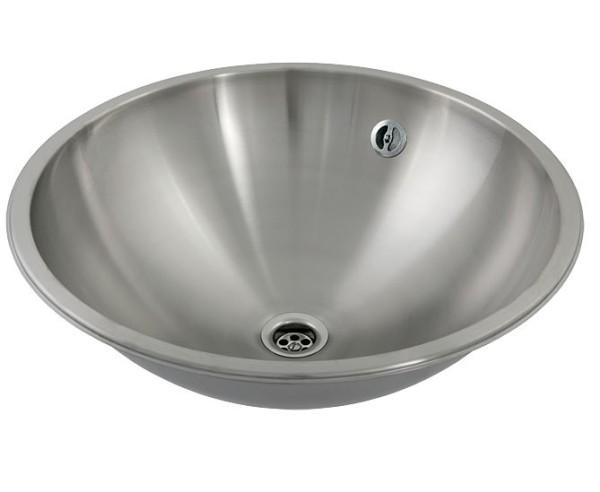 Waschbecken rund einbau  Einbau-Waschtisch rund SLUN 34 | Hygienemarkt24.de