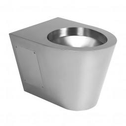 Edelstahl Toilette wandhängend SLWN19