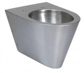 toiletten mit und ohne wc sitz aus edelstahl sanit r wc bad sozialr ume personalhygiene und. Black Bedroom Furniture Sets. Home Design Ideas